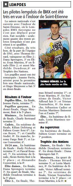 St Etienne ARTICLE LA MONTAGNE