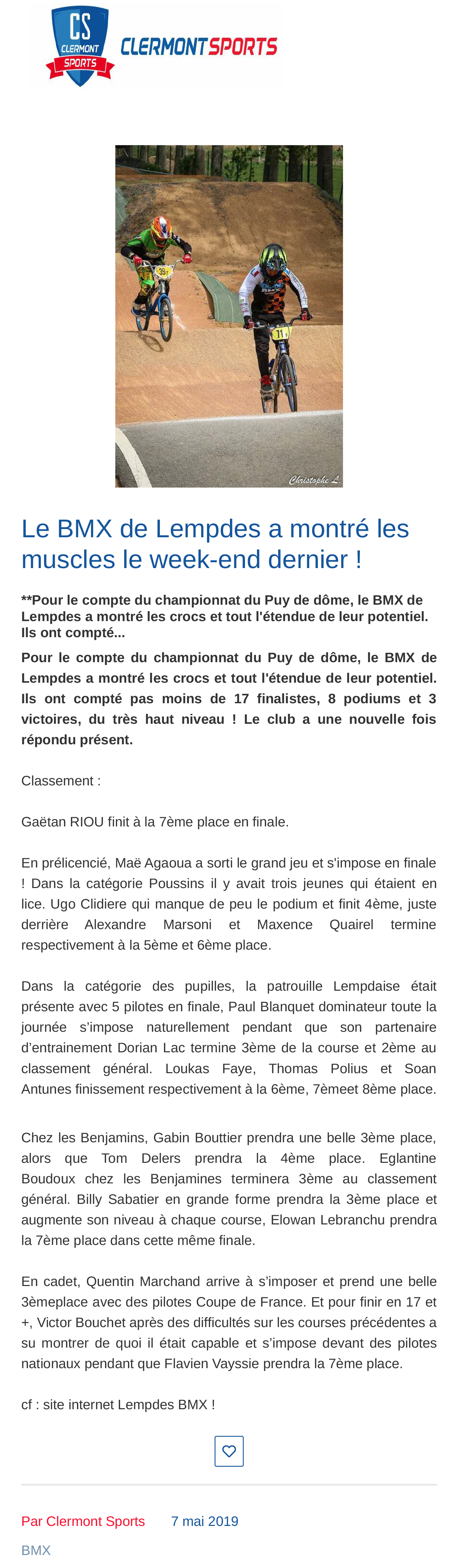 2019 05 07 clermont sports